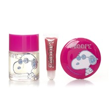 Joe Cool - Eau de Toilette Set Snoopy - fuchsienrosa