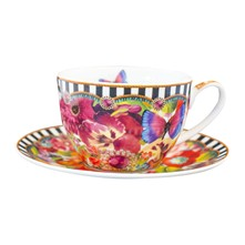 Eliza - Tazza con piattino - multicolore