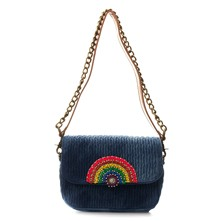 Jean Rainbow - Clutch - washed blauw