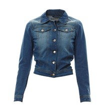 Chaqueta - denim azul