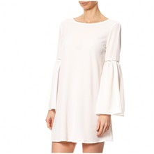 Robe over-size - blanc