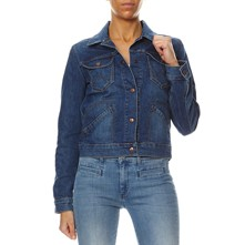 W4039372T - Giacca in jeans - blu jeans