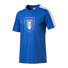 Fanwear Badge - T-Shirt - blau