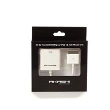 Kabel HDMI voor iPad 1 & 2 en iPhone 4/4S - wit