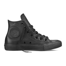 CHUCK TAYLOR ALL STAR HI BLACK MONO - Sneakers alte in pelle - nero
