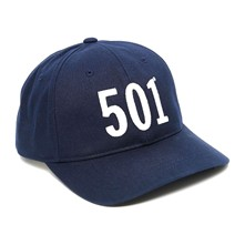 Base ball 501 - Pet - marineblauw
