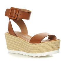 Wedges - kamelfarben
