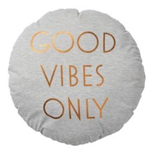 Good Vibes Only - Cojín - dorado