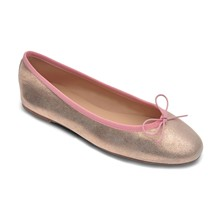 Stephania - Ballerines en cuir - rose