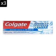 Advanced White - Lote de 3 dentífricos - 100 ml