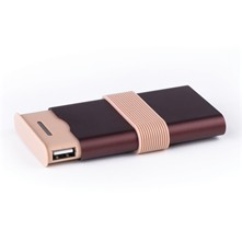 Fine power bank - High tech - bordeaux