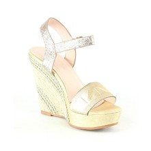 Wedges - goldfarben