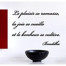 Citation de Bouddha - Pegatina