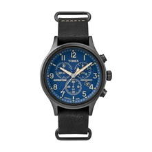 Expedition Field - Typ: Chronograph - schwarz