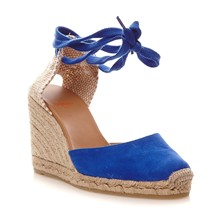 Carina - Wedges - blau