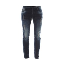 711 - Jean Slim - denim azul