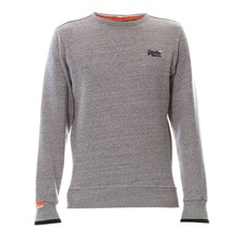 Orange Label Crew - Sweatshirt - grau meliert