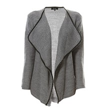Strickjacke - grau