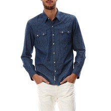 Sawtooth - Camicia in jeans - blu jeans