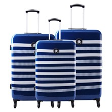 Set 3 trolley - blu scuro