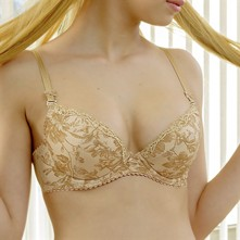 Flora - Reggiseno push-up - beige