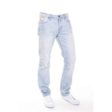 Wildy - Jean recto - denim azul