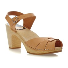 Peep toe Super High nature - Sandalen