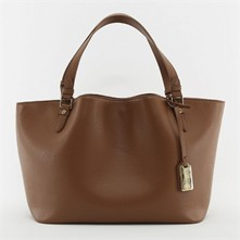 Shopping bag - bronzo