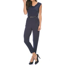 Molly - Jumpsuit - marineblauw