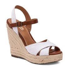 WALKER ROMANTIC - Sandalen - wit