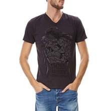 The Night - T-Shirt - stahlfarben