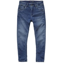 Jeff - Jean recto - denim azul