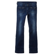 218 - Jeans bootcut - blauw