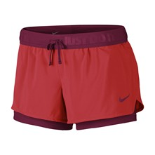 FULL FLEX 2 IN 1 2.0 - Shorts - rot