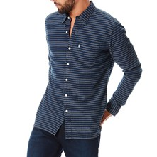Sunset 1 pocket - Camisa - azul marino