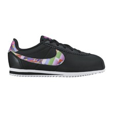 CORTEZ NYLON PRINT (PS) - Sneakers in pelle - nero