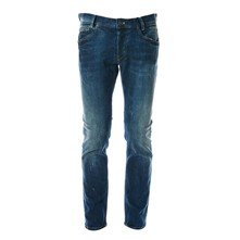 Spike - Jean recto - denim azul