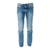 Lyle - Jean recto - denim azul