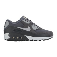 Air Max 90 - Baskets en cuir - gris