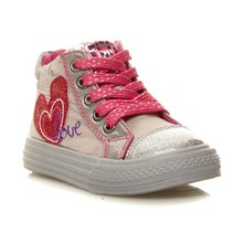 Elsa - High Sneakers - grau