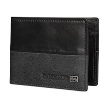 Exchange - Cartera de cuero - negro
