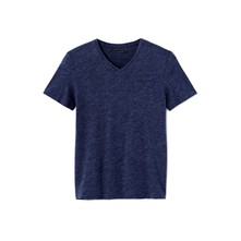 Vebasic - T-shirt - klassiek blauw