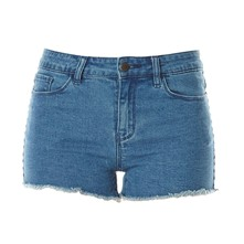 Seven - Short - denim azul