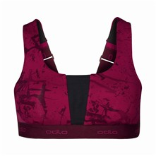Padded Medium Sports Bra - Sport-BH - fuchsienrosa