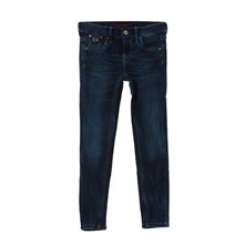 SNICKER - Jean slim - denim azul