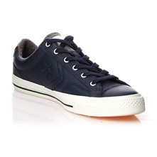 STAR PLAYER LEATHER OX OBSIDIAN/SEPIA - Sneakers