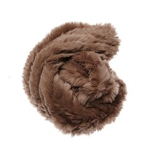 Snood en fourrure de lapin - marron