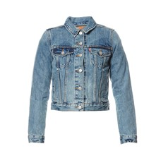 Authentic Trucker - Chaqueta vaquera - denim azul
