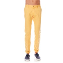 Pantalon chino - moutarde