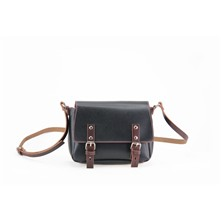 Ascetic - Leren satchel bag - zwart